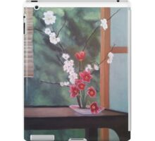 Ikebana With Tulips and Apple Blossoms iPad Case/Skin