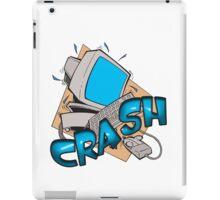 Comuter Crash iPad Case/Skin