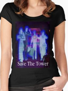 Save The Tower Women's Fitted Scoop T-Shirt