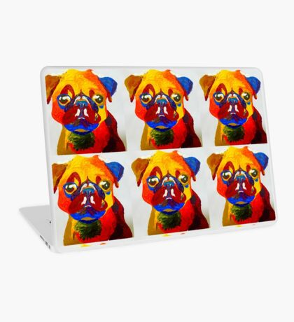 Pug Daniel Revised  Laptop Skin