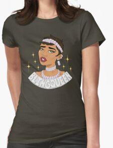 BLING QUEEN Womens Fitted T-Shirt