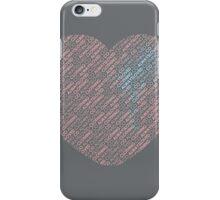 Bleeding Blue iPhone Case/Skin