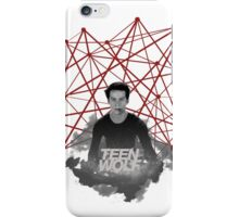 Stiles Stilinski Connected Lines iPhone Case/Skin