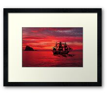 Peace Be The Night Framed Print
