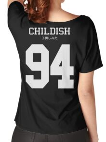 Childish Jersey (custom) Women's Relaxed Fit T-Shirt