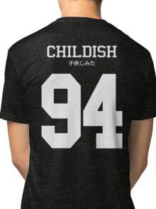 Childish Jersey (custom) Tri-blend T-Shirt