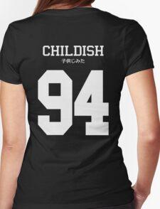 Childish Jersey (custom) Womens Fitted T-Shirt