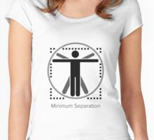 Minimum Separation Women's Fitted Scoop T-Shirt