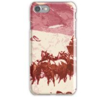 Stagecoach winter iPhone Case/Skin