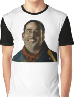 Negan Fanart Graphic T-Shirt