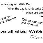 Fine Lines  - Write On! by Mardra