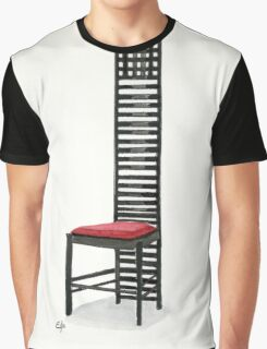 The Hill House Chair - Watercolor painting  Graphic T-Shirt