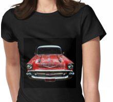 Rockabilly Racer Womens Fitted T-Shirt