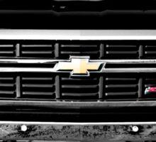 Chevy Silverado Sticker Sticker
