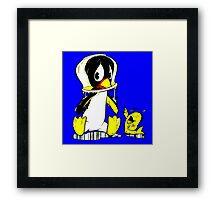Penguin Bowl Framed Print