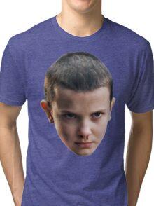 Eleven STRANGER THINGS Tri-blend T-Shirt