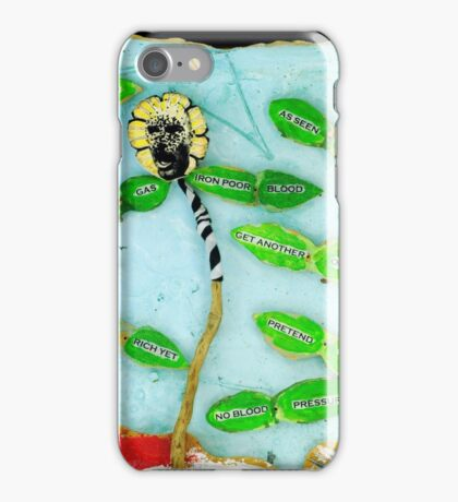 Pre-Post Mortem Modern Art Diffusion iPhone Case/Skin