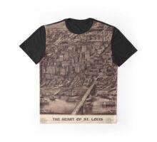 St. Louis 1907 Sepia Graphic T-Shirt