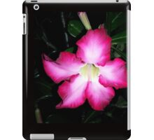 Blazing pink desert rose iPad Case/Skin