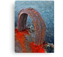 Rusty Loop Canvas Print