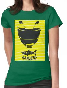 Yellow Ranger Womens Fitted T-Shirt