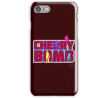 Cherry Bomb (Text) iPhone Case/Skin