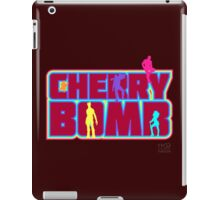 Cherry Bomb (Text) iPad Case/Skin