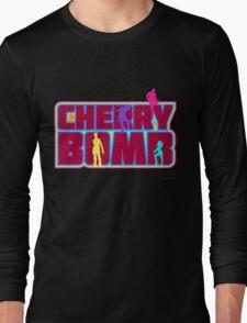 Cherry Bomb (Text) Long Sleeve T-Shirt