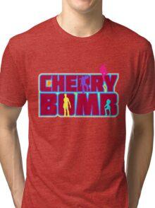 Cherry Bomb (Text) Tri-blend T-Shirt
