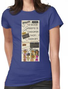 Good Friends Womens Fitted T-Shirt