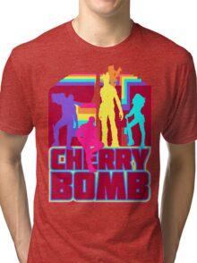 Cherry Bomb (Full) Tri-blend T-Shirt