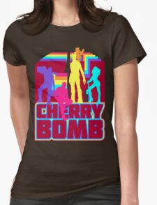 Cherry Bomb (Full) Womens Fitted T-Shirt