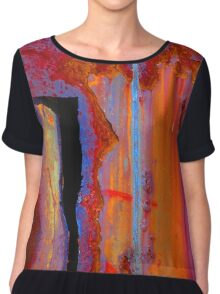 Tales from the Dark Side Chiffon Top
