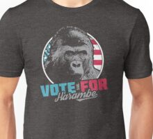 Vote for Harambe Unisex T-Shirt