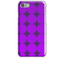 Psychedelic Grape Polka-Dotted iPhone Case/Skin