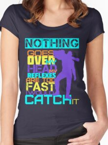 Nothing Goes Over My Head Women's Fitted Scoop T-Shirt
