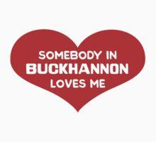 Someone in Buckhannon Loves Me Kids Tee