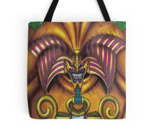 exodia the forbidden one yugioh Tote Bag