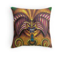 exodia the forbidden one yugioh Throw Pillow