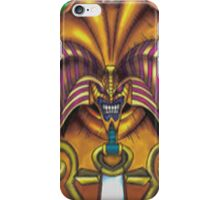 exodia the forbidden one yugioh iPhone Case/Skin