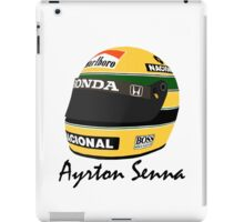 Ayrton Senna Helmet Design iPad Case/Skin
