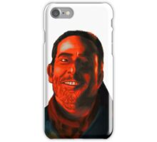 Negan Fanart- Crimson Ver. iPhone Case/Skin