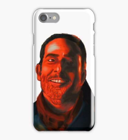 Negan Fanart- Crimson Ver. iPhone Case/Skin