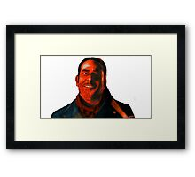 Negan Fanart- Crimson Ver. Framed Print