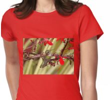 Color Coordinated Hummer Womens Fitted T-Shirt