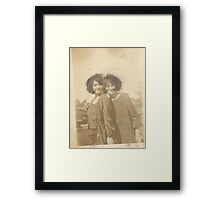 Anonymous Heritage No. 1 Framed Print