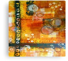 Hot and Spicy Original Abstract Canvas Print