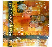 Hot and Spicy Original Abstract Poster
