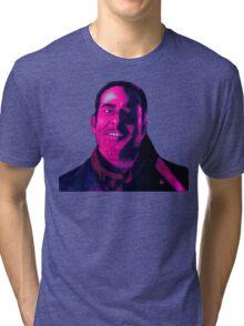 Negan Fanart- Hell Ver. Tri-blend T-Shirt