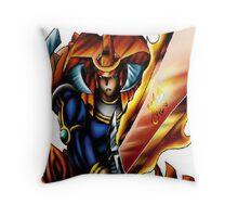 flame swordsman yugioh Throw Pillow